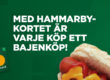 Onsdagens matchvärd ger info om Hammarbykortet