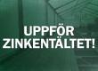 Måndagen 18 oktober uppförs Zinkentältet